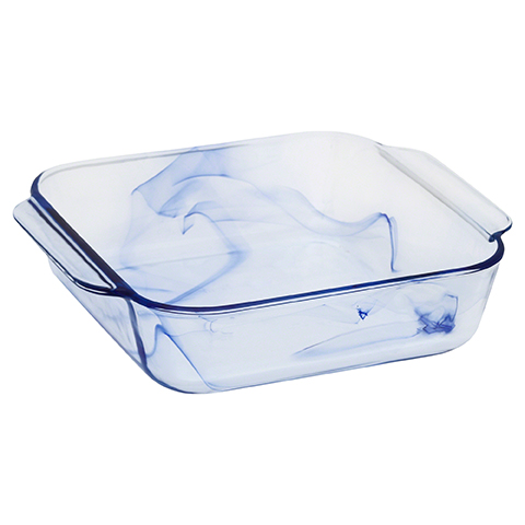 Pyrex® Watercolor CollectionTM Blue Lagoon 1.9L Square Baker