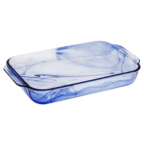Pyrex® Watercolor CollectionTM Blue Lagoon 2.8L Oblong Baker