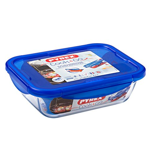 Pyrex® Cook & Go Medium Rectangular Dish