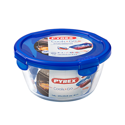Pyrex® Cook & Go Medium Round Dish