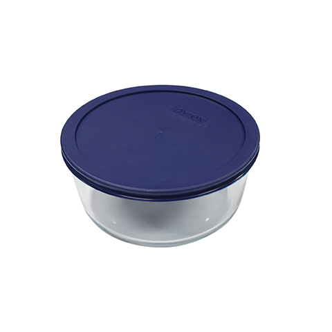 Pyrex® Simply Store 2 Cup Round Dish w/ Blue Lid