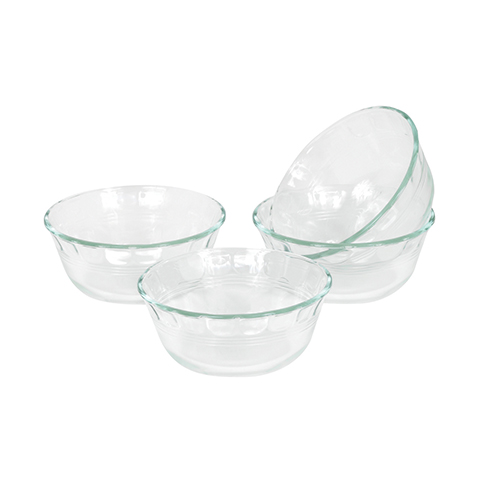 Pyrex® 177ml Custard Cups, 4pc