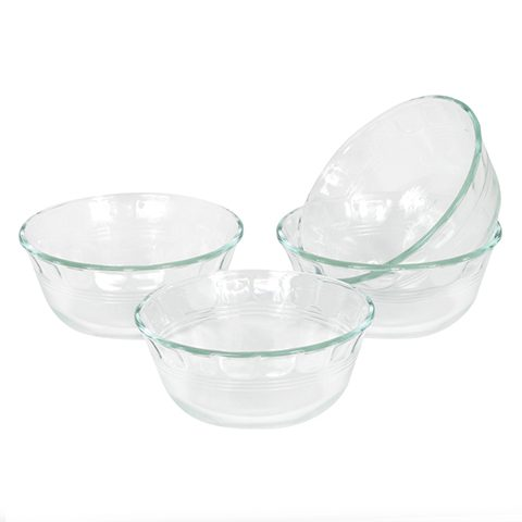 Pyrex® 295ml Custard Cups, 4pc