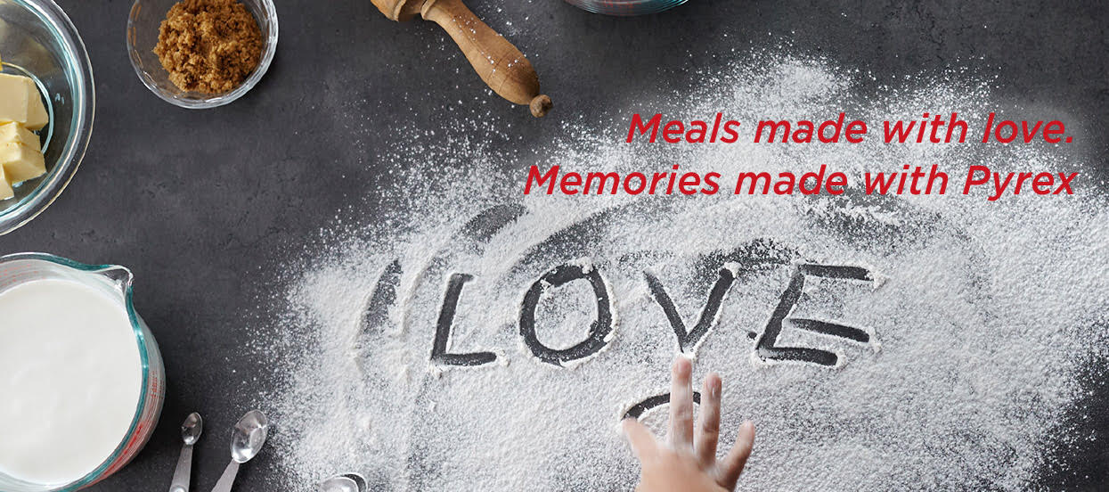 Meals made with love - Pyrex